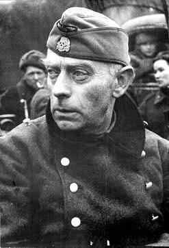 karl pfeffer wildenbruch after the budapest siege. He tried to escape but couldn't achieve it