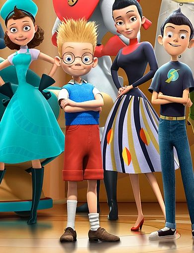 meet the robinsons characters wikiality