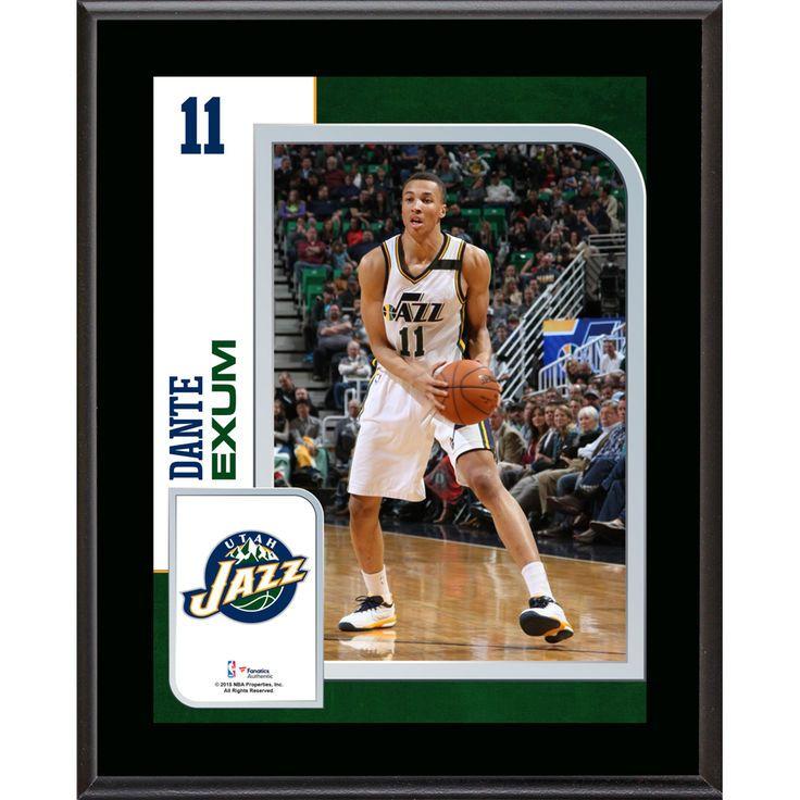 """Dante Exum Utah Jazz Fanatics Authentic 10.5"""" x 13"""" Sublimated Player Plaque - $29.99"""