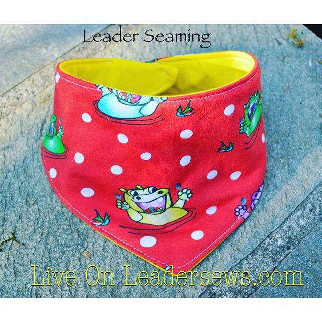 Live over at leadersews.com today! The next piece of the stylish baby collection is the bandana style bib! This one is made out of @rikipediawear hippos! So many cute options to dress up those kiddos! #leadersews #bandanabib #stylishbaby #babyaccesories #hippos