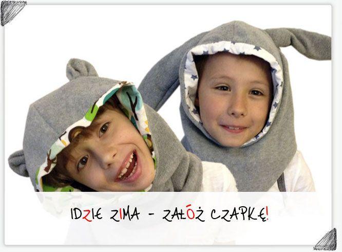 Czapki, szaliki, kominy - idzie zima, zadbaj o ciepłe i oryginalne nakrycie głowy dla Twojego dziecka!