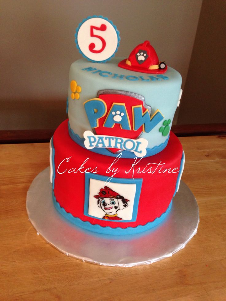 Paw Patrol Images For Cake : 17 Best images about Paw Patrol cake ideas on Pinterest ...