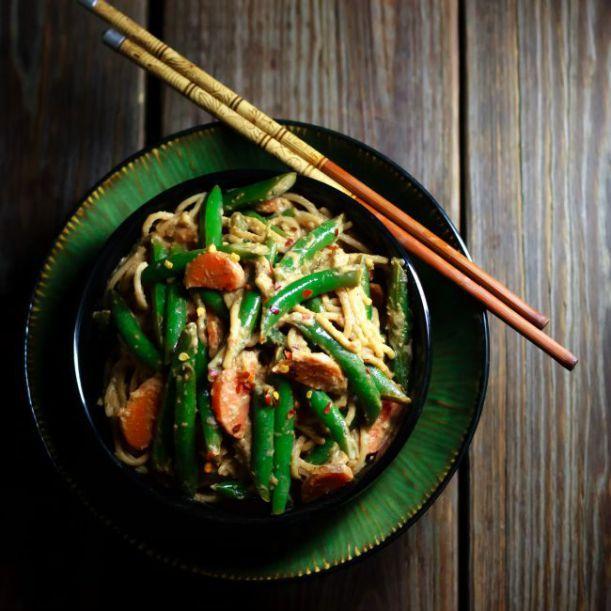 Spicy Green Beans on Pinterest   Chinese green beans, Fresh green bean ...