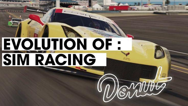 Evolution Of Sim Racing [Donut Media] #donutmedia #evolution #cars #autos #racing #motorsports #gaming #videogames #design #animation #gamers #geek