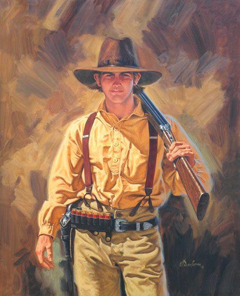 Grandpa's Shotgun by Russ Tannenbaum