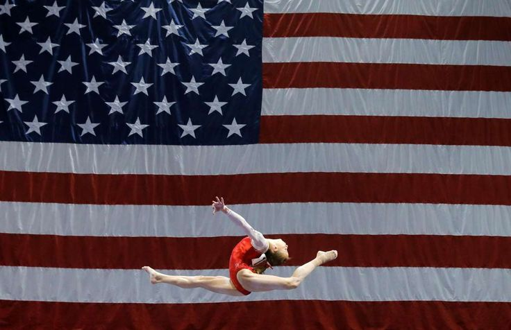St. Louis Madison Kocian competes on the balance beam during the U.S. Gymnastics…