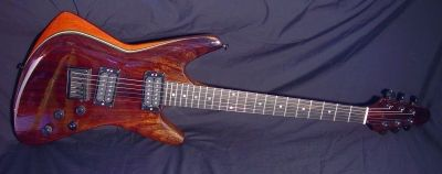 Chris Larkin Guitars - A Blast from the Past - a Razer!