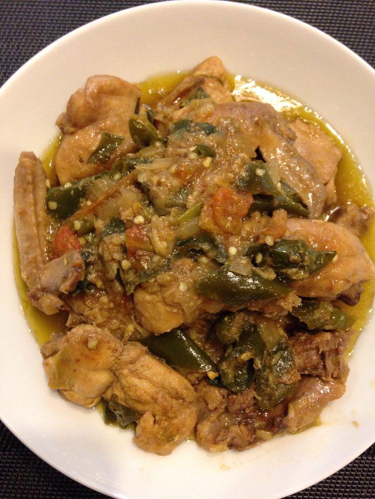 Ayam wijen cabe hijau #homemade