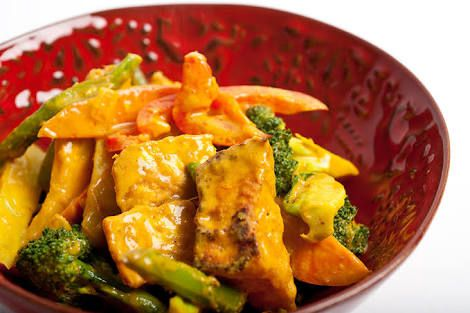 Penang tofu curry