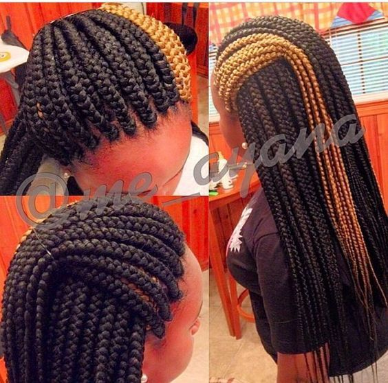 thick box braids ideas