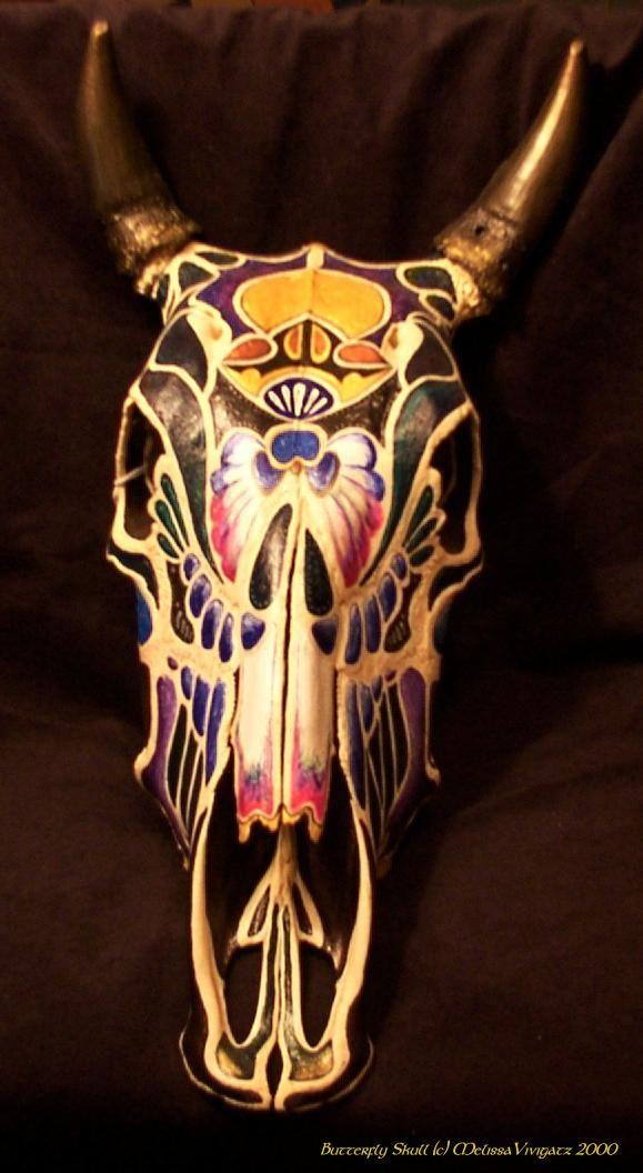 Cow Skull Art Google Search Cow Skull Pinterest
