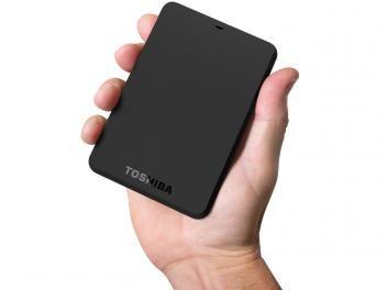 HD Externo 500GB Toshiba CanvioBasics 3.0 - USB 3.0