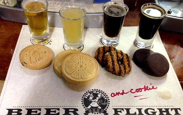 Girl Scout Cookies + Beer Pairings = Freakout! | beer - Zagat