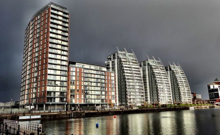 Salford Quays , Manchester's stunning waterfront .