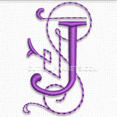 Alphabet Embroidery Designs  Meryl Makes