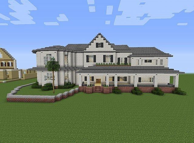 how to build a quick and easy mansion in minecraft