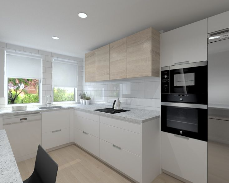 M s de 25 ideas incre bles sobre cocina de granito blanco - Encimera granito negro ...