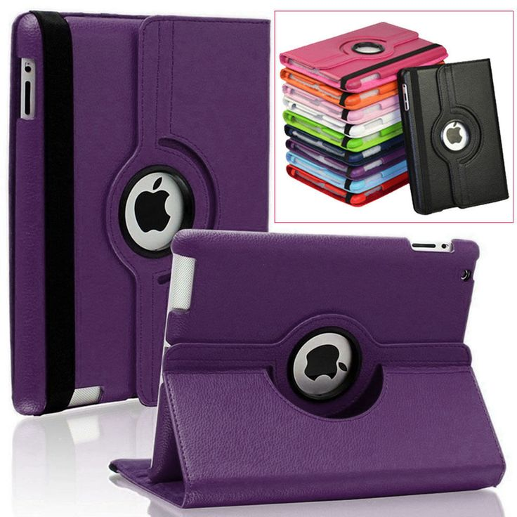 2pcs/lot!For ipad Air2 cases 360 Rotating Leather Cover For Apple iPad Air 2/iPad 6 Magnetic Protector tablet Cases S2A14D