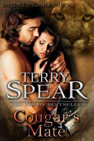 Cougar's Mate By Terry Spear - From a USA Today bestselling author: Cougar shifter Shannon is on the run when she meets Chase, a deputy sheriff. Can they learn to protect each other? A steamy, intense romance!