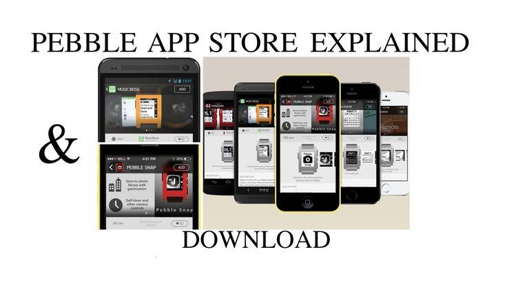 Pebble App Store Explained & Download Link