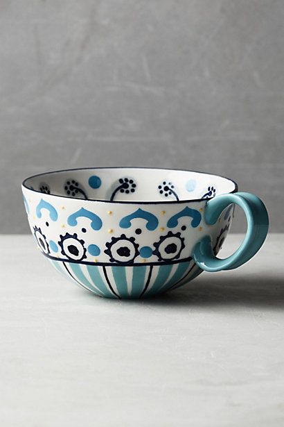Anthropologie EU Aegean Mug