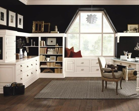 Craft Room Ideas And Layouts | Craft Room Design, Pictures, Remodel, Decor  And · Home Office ...