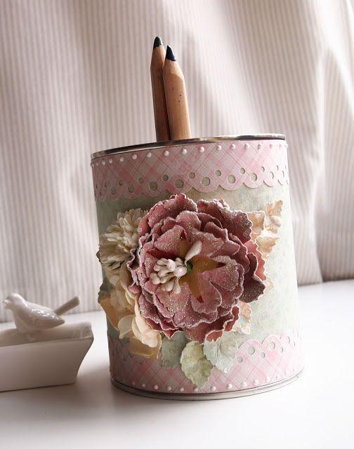 ZUZIUCHOWE creations: Paper flowers - TUTORIAL
