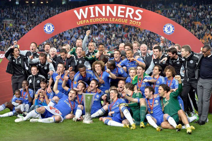 Chelsea FC ,winner of Europa League 2013