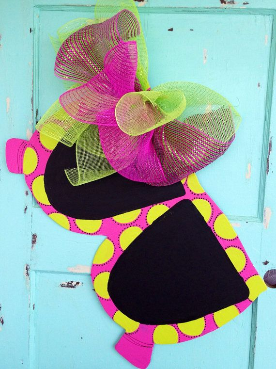 Summer door hanger  sunglasses door hanger    by paintchic on Etsy, $42.00