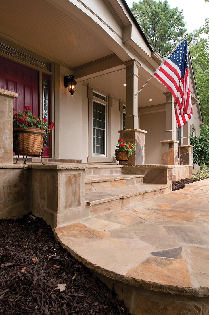 105 best front porch steps images on pinterest