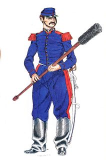Artilleryman: army of the Papal States 1860 - 1870