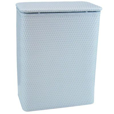 Rebrilliant Laundry Hamper Color: Illusion Blue