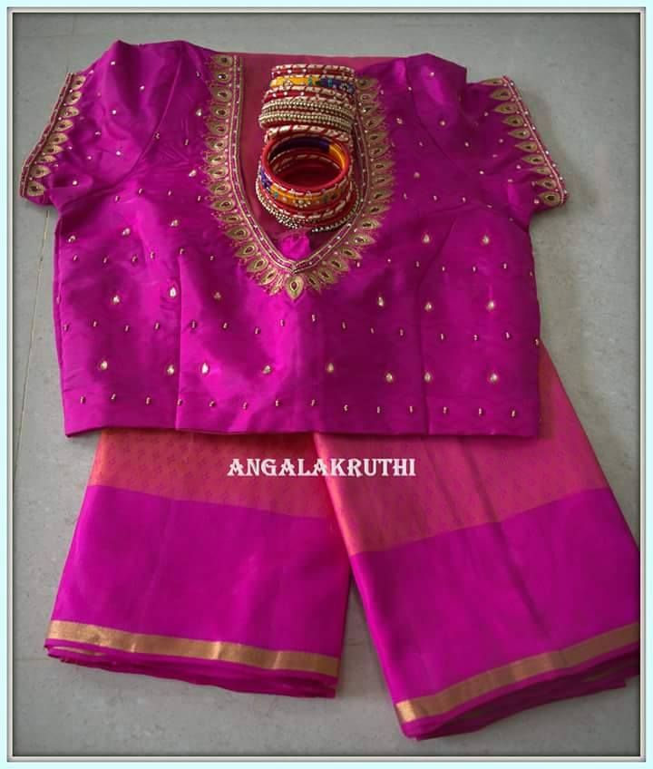 Ladies and kids boutique in bangalore neck designs hand