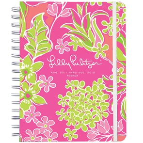 Nothing beats a Lilly agenda to organize your life. I use mine wayyyy more than my iPhone calendar!