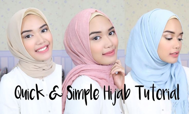 Check out these easy quick hijab styles for different face shapes, they are too quick to create and simple for everyday style, Enjoy! https://www.youtube.com/watch?v=LhdvxIHM4qw