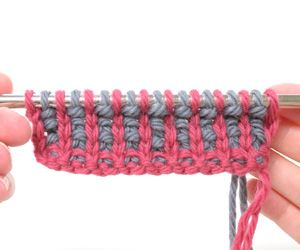 Stitch Tutorial | Corrugated Ribbing |  Not as stretchy as regular ribbing, but visually appealing.