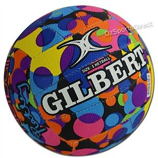 Great range of top quality netballs and netball gifts - Gilbert Susan Pratley Pettitt Signature Netball - OzSportsDirect