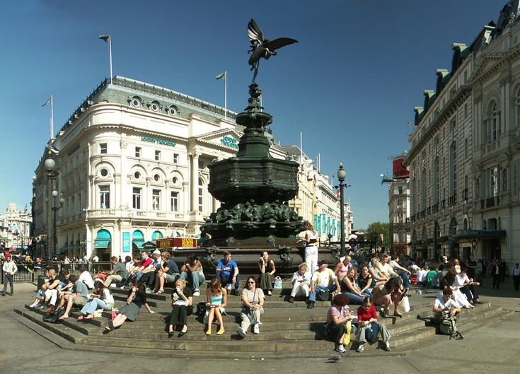 Piccadilly Circus....or rather circle....