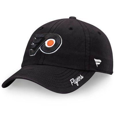 Philadelphia Flyers Fanatics Branded Women's Fundamental Adjustable Hat - Black