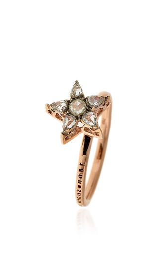 Istanbul collection diamond star ring by SELIM MOUZANNAR for Preorder on Moda Operandi