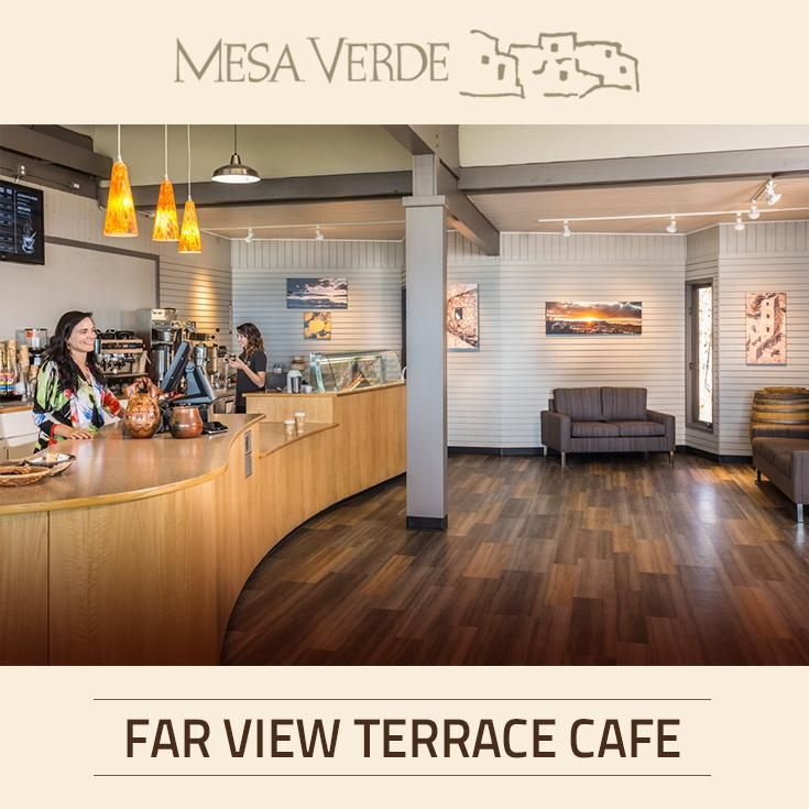 Located close to Far View Lodge and Far View Visitor center, Far View Terrace Café is the perfect place to take in a great meal - and an unforgettable view of Mesa Verde National Park in CO.