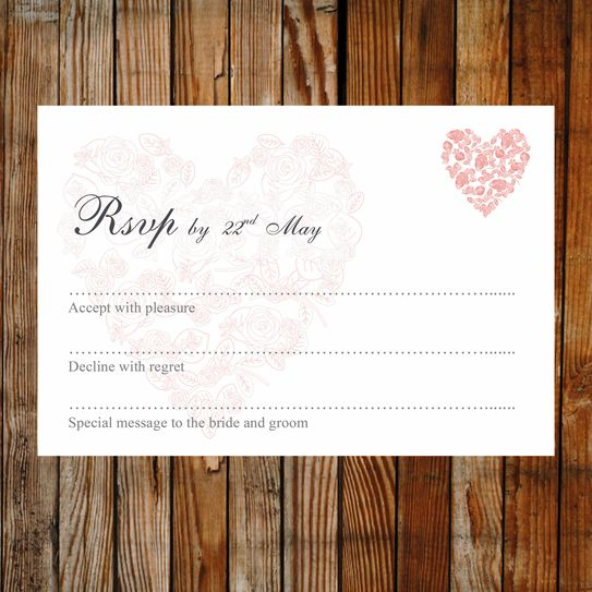 55 best printable wedding rsvp and enclosure card templates images