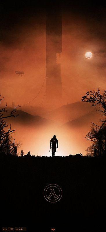 « Half-Life », Posters par Noble-7   Redbubble