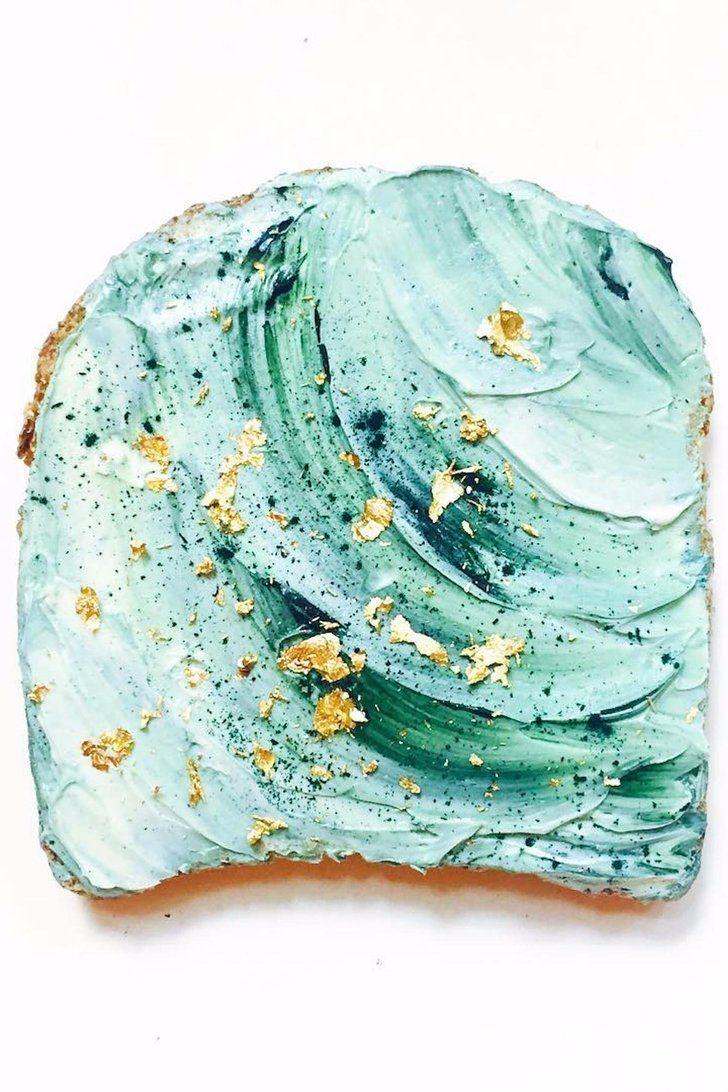 """ALEC / matière et douceur (la creme), tendresse. C'est Quoi au Juste les """"Mermaid Toasts?"""""""
