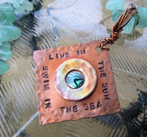 Copper Necklace - Live In The Sun, Swim In The Sea