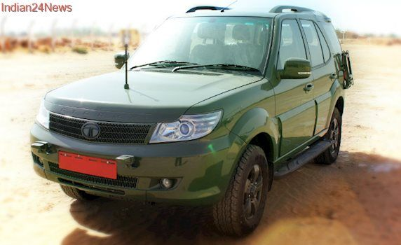 Tata Motors To Supply 3,192 Units Of Safari Storme To The Indian Army