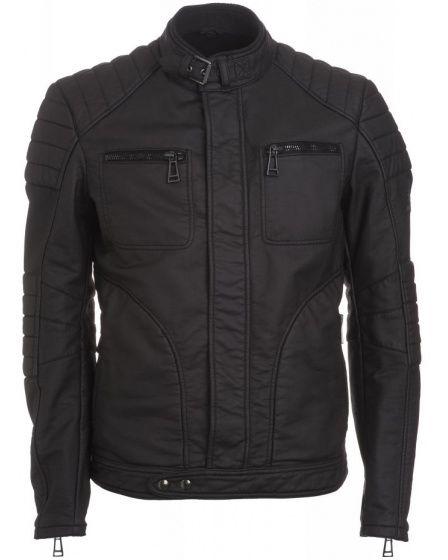 Belstaff Men's Black Fitted 'Weybridge' Jacket from Repertoire