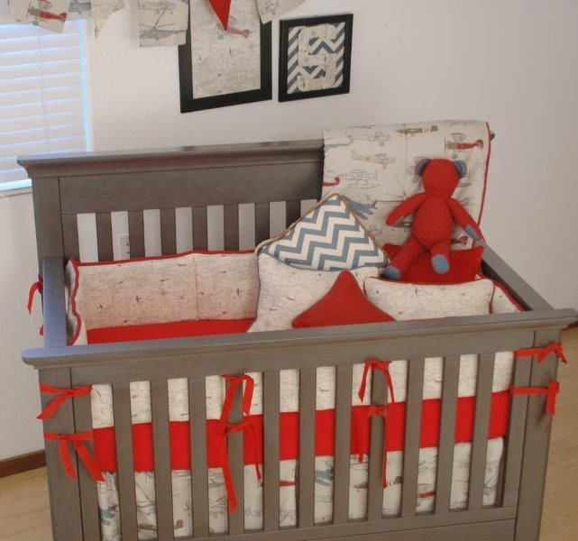 airplane baby bedding 3