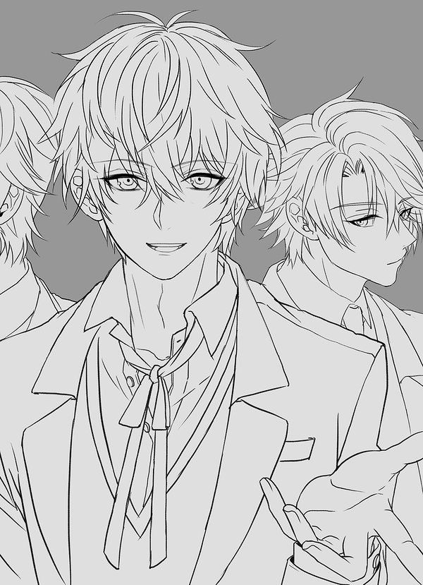 Twitter Anime Face Shapes Anime Drawings Boy Anime Boy Sketch