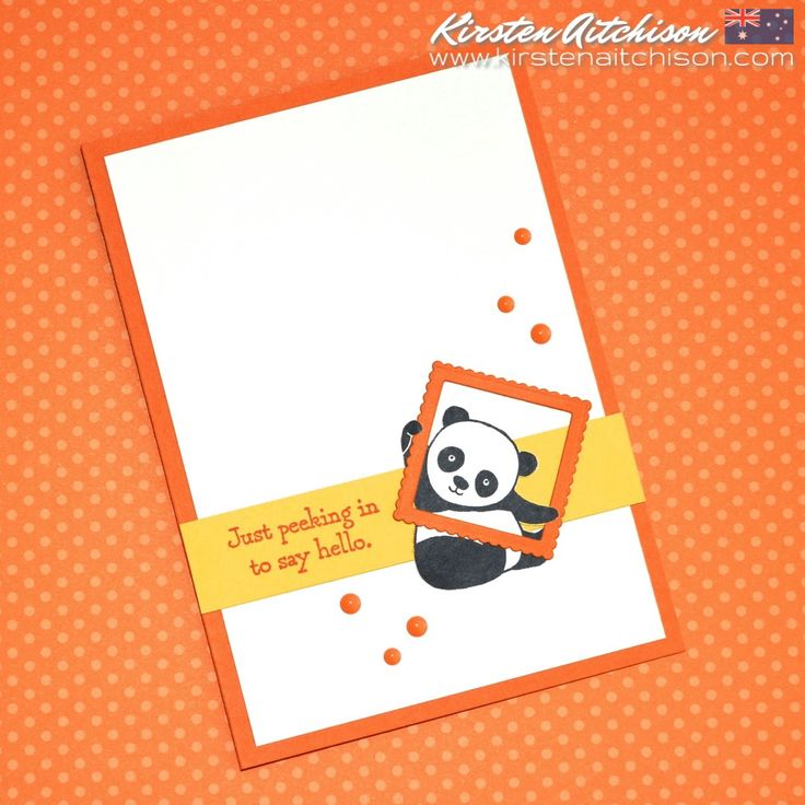 Hello and thanks for stopping by :) Today I want to share a super cute and quick CAS card I created for this weeks CAS(E) this sketch! #...